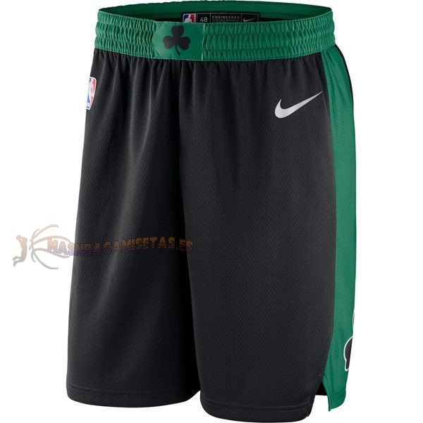 De Alta Calidad Pantalones Basket Boston Celtics Nike Negro