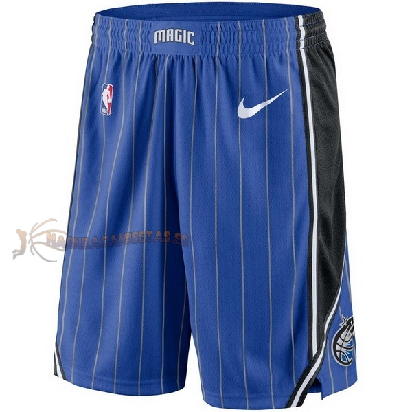 De Alta Calidad Pantalones Basket Orlando Magic Nike Azul