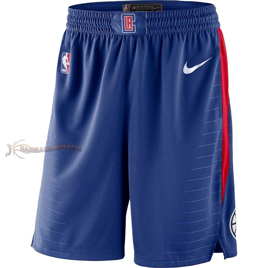 De Alta Calidad Pantalones Basket Los Angeles Clippers Nike Royal Azul 2018