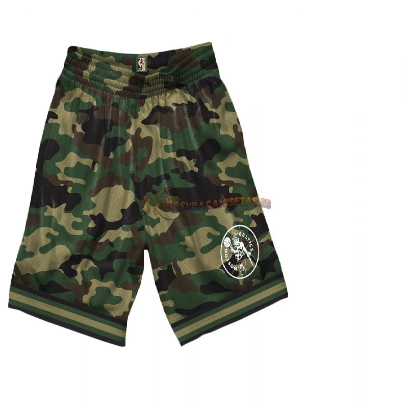 De Alta Calidad Pantalones Basket Boston Celtics camuflaje