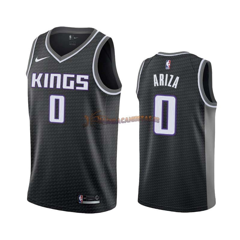 De Alta Calidad Camisetas NBA Nike Sacramento Kings 0 Trevor Ariza Negro Statement 2019/20