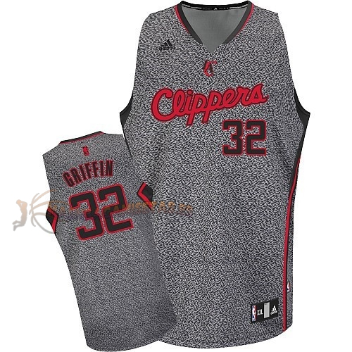 De Alta Calidad Camisetas NBA 2013 Estática Moda Los Angeles Clippers 32 Blake Griffin