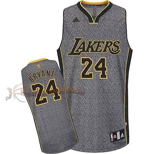 De Alta Calidad Camisetas NBA 2013 Estática Moda Los Angeles Lakers 24 Bryan