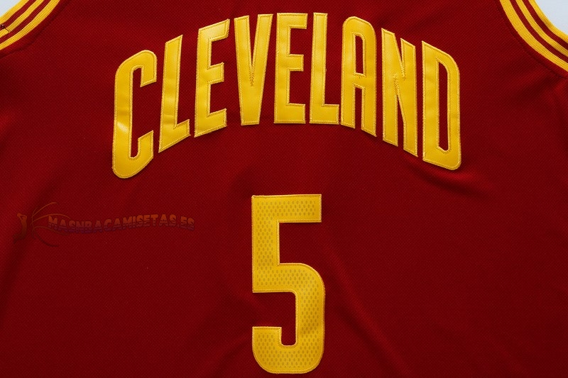 De Alta Calidad Camisetas NBA Cleveland Cavaliers 5 JR.Smith Rojo
