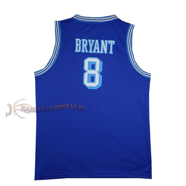 De Alta Calidad Camisetas NBA Los Angeles Lakers 8 Kobe Bryant Azul