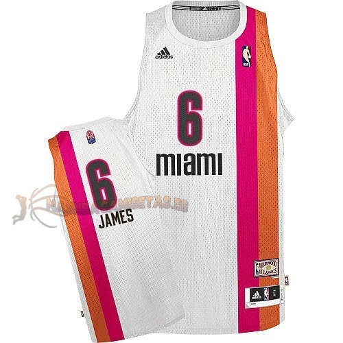 De Alta Calidad Maillo ABA Miami Heats 6 James Blanco