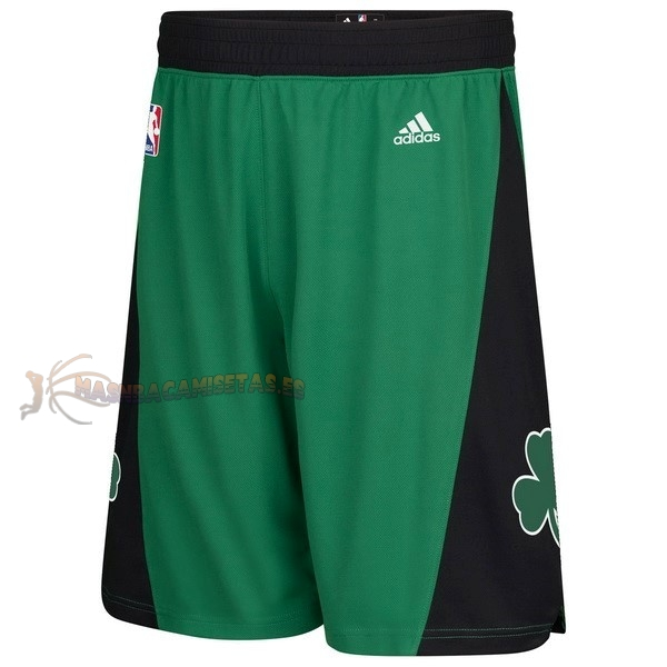 De Alta Calidad Pantalones Basket Boston Celtics Negro
