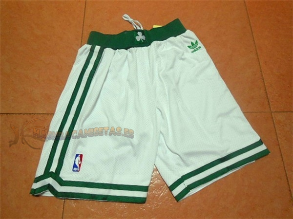 De Alta Calidad Pantalones Basket Boston Celtics Retro Negro