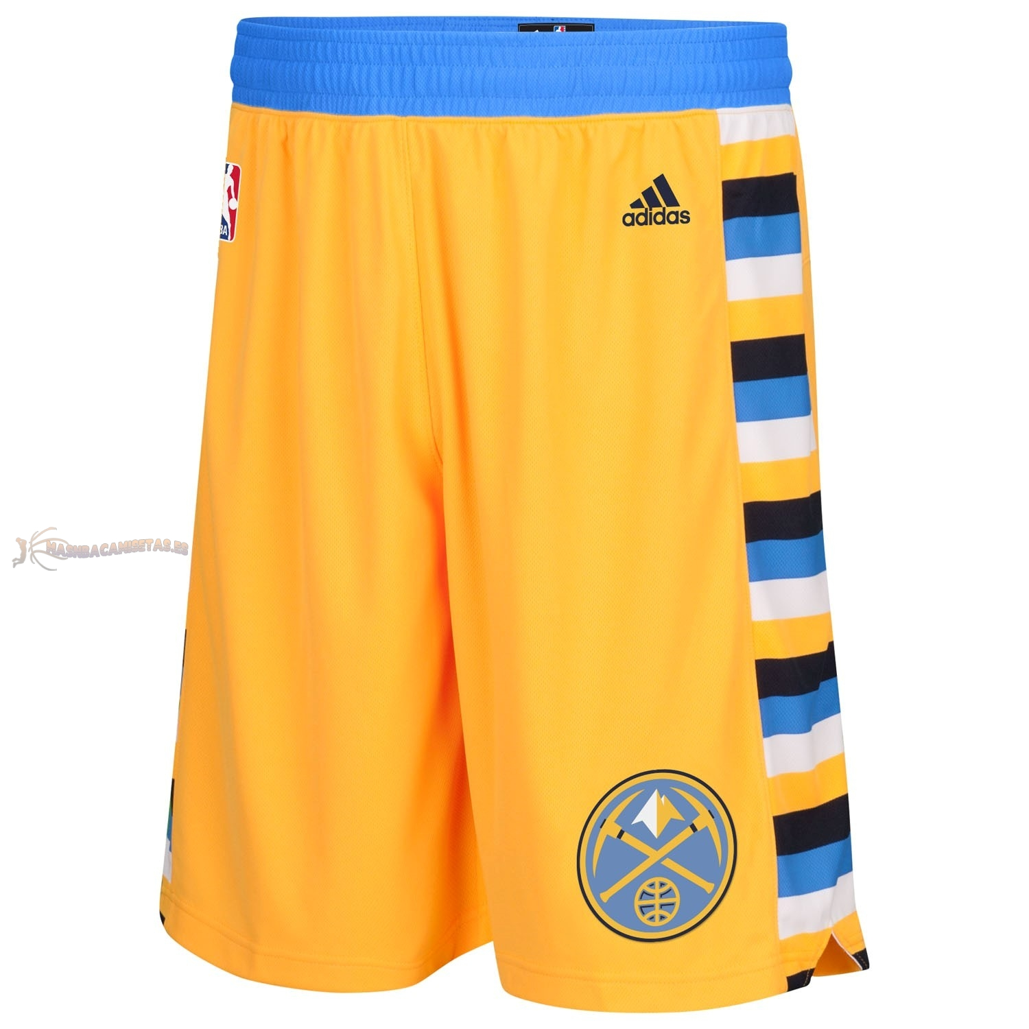 De Alta Calidad Pantalones Basket Denver Nuggets Amarillo