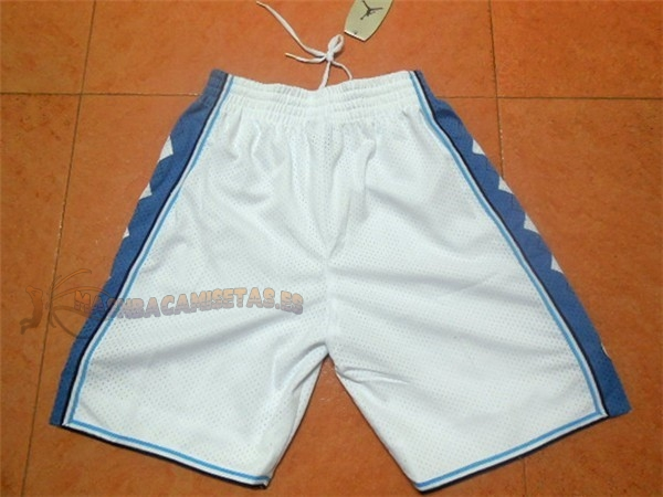 De Alta Calidad Pantalones Basket North Carolina Blanco