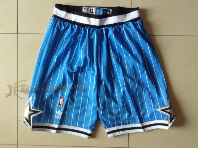 De Alta Calidad Pantalones Basket Orlando Magic Azul Tira