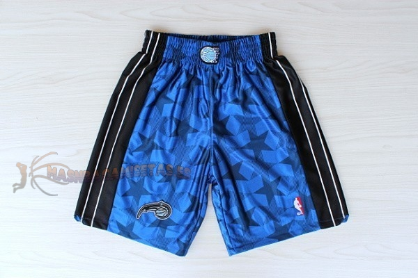 De Alta Calidad Pantalones Basket Orlando Magic Azul