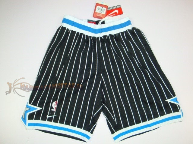 De Alta Calidad Pantalones Basket Orlando Magic Negro